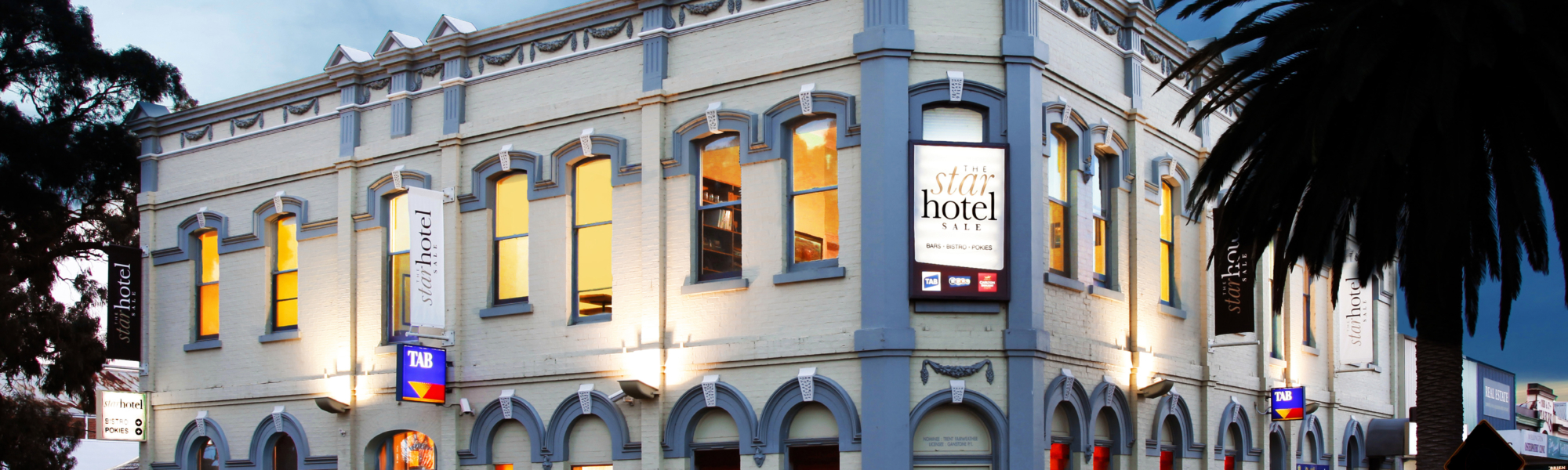 Star Hotel Sale exterior slightly smaller with logo copy